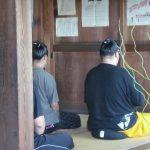 お相撲さんも坐禅